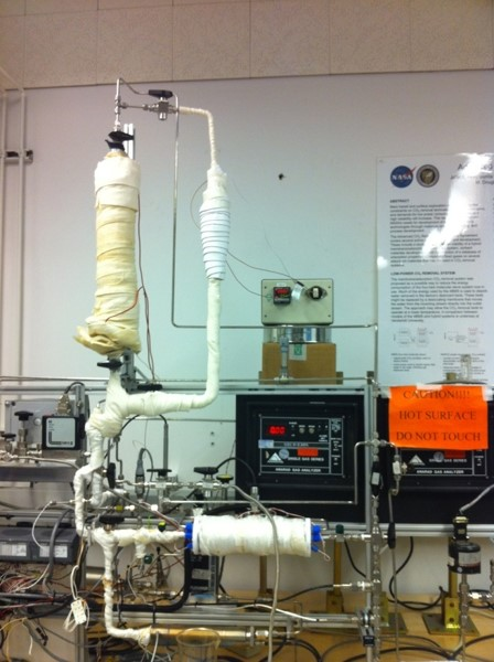 Testbed: Carbon Dioxide Removal for Portable Applications